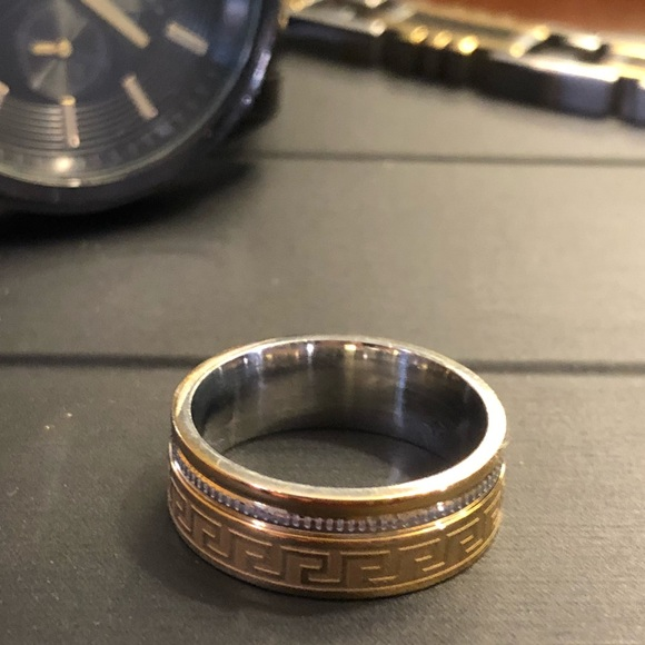 Other - Men's Stainless Steel Ring Size 10 or 7